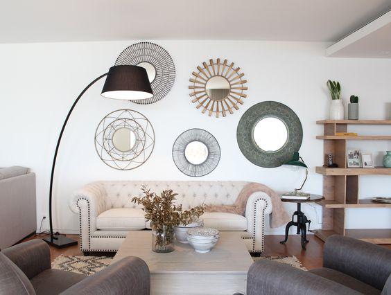Diferentes estilos para espejos decorativos
