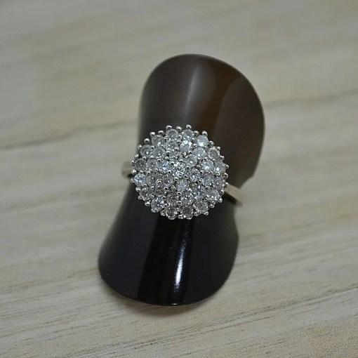 Zilveren verlovingsring Trento Rome online kopen   Trendy Juweeltjes