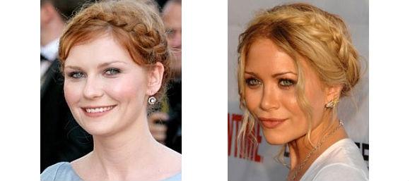 Kirsten Dunst - Mary-Kate Olsen - Tresse couronne