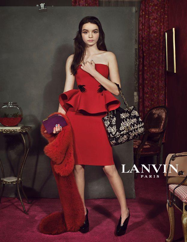 Vogue se refait une beaut lanvin comptoir des - Au comptoir des cotonniers ...