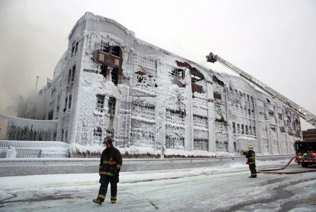5-11 alarm fire