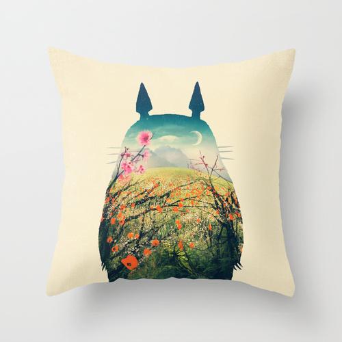 oreiller Totoro