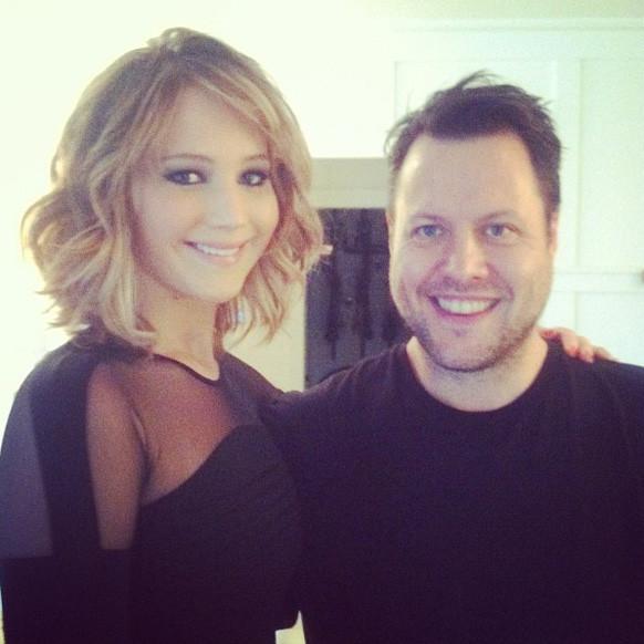 Idées de coupes de cheveux - Jennifer Lawrence