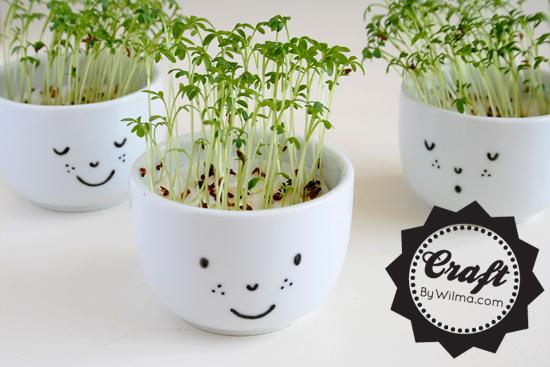 DIY cute cups