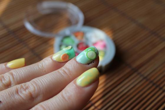 nail art fruits