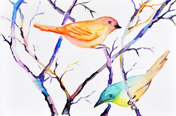 Etsy - Summer Birds