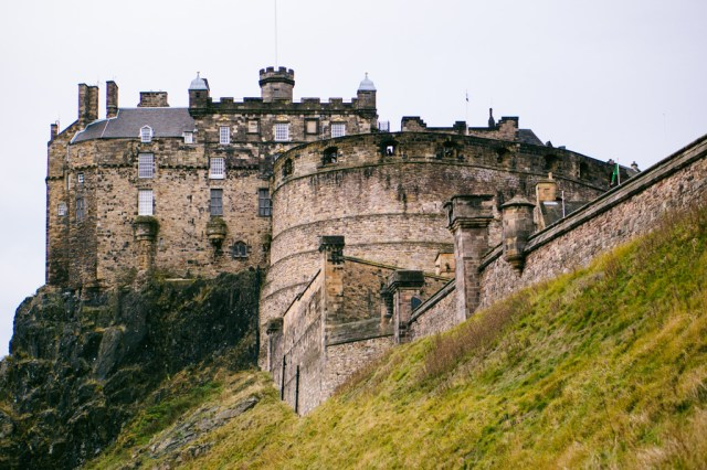 Chateau d'Edimbourg - Ecosse