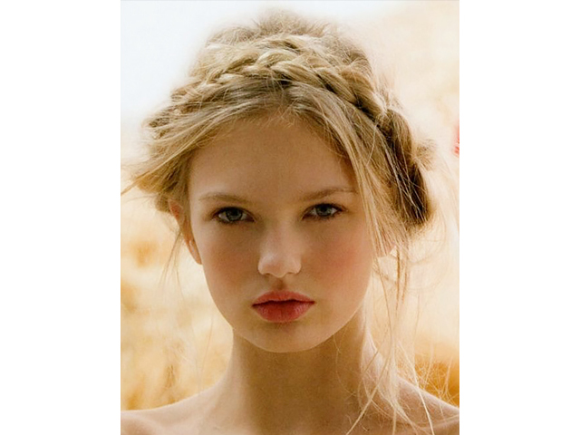 inspiration tresse couronne Byrdie