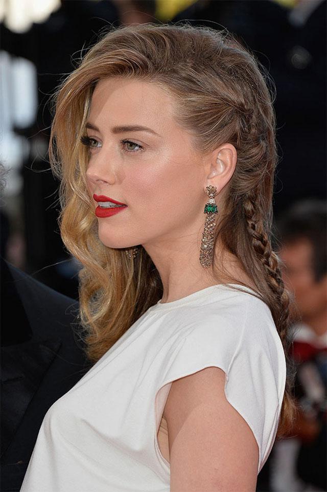 Amber Heard Tresse Cannes