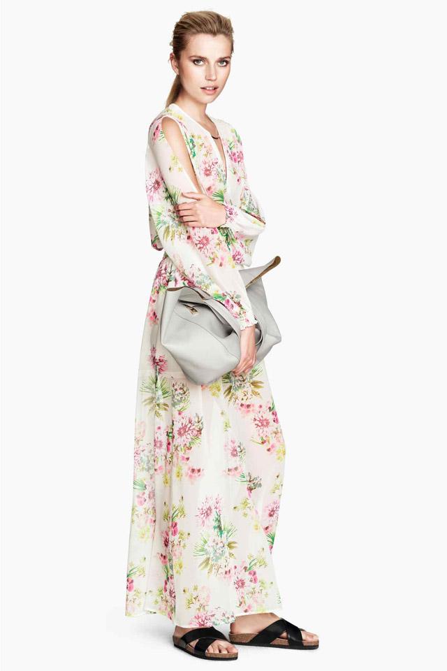 H&M robe longue 1