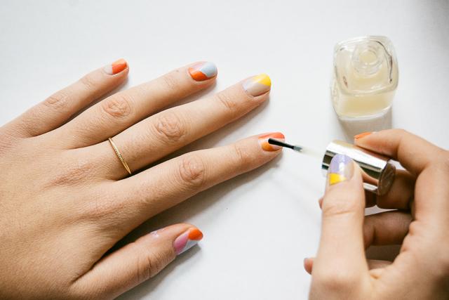 Nail Art Arlequin-4