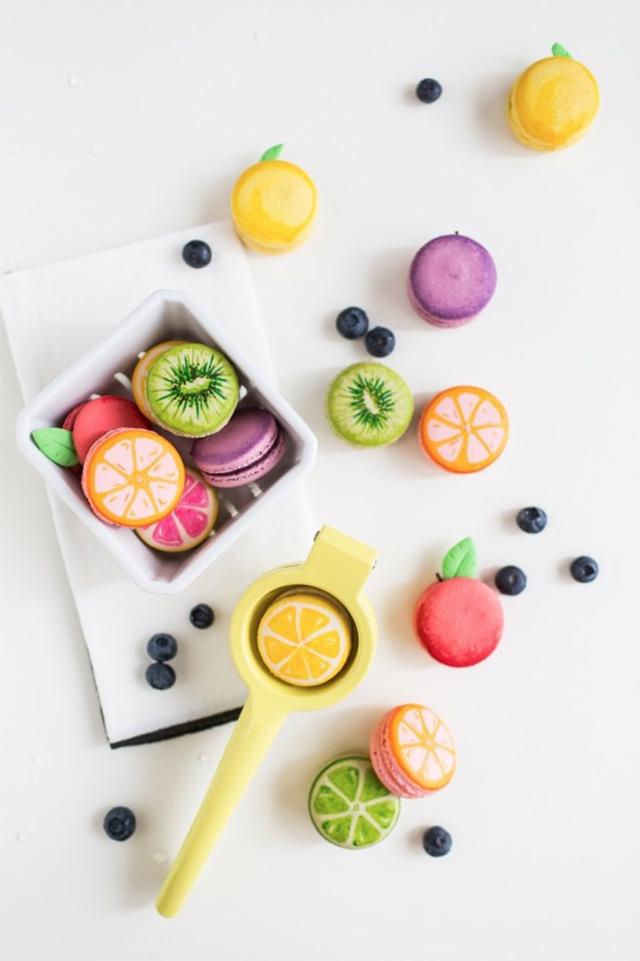 Recette-Macarons