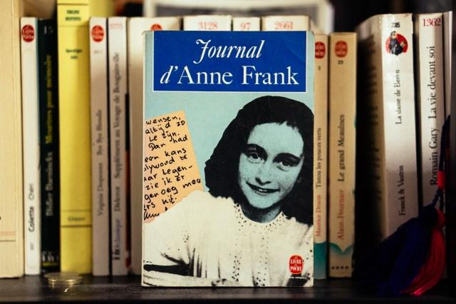 Mes livres préférés - Journal d'Anne Frank