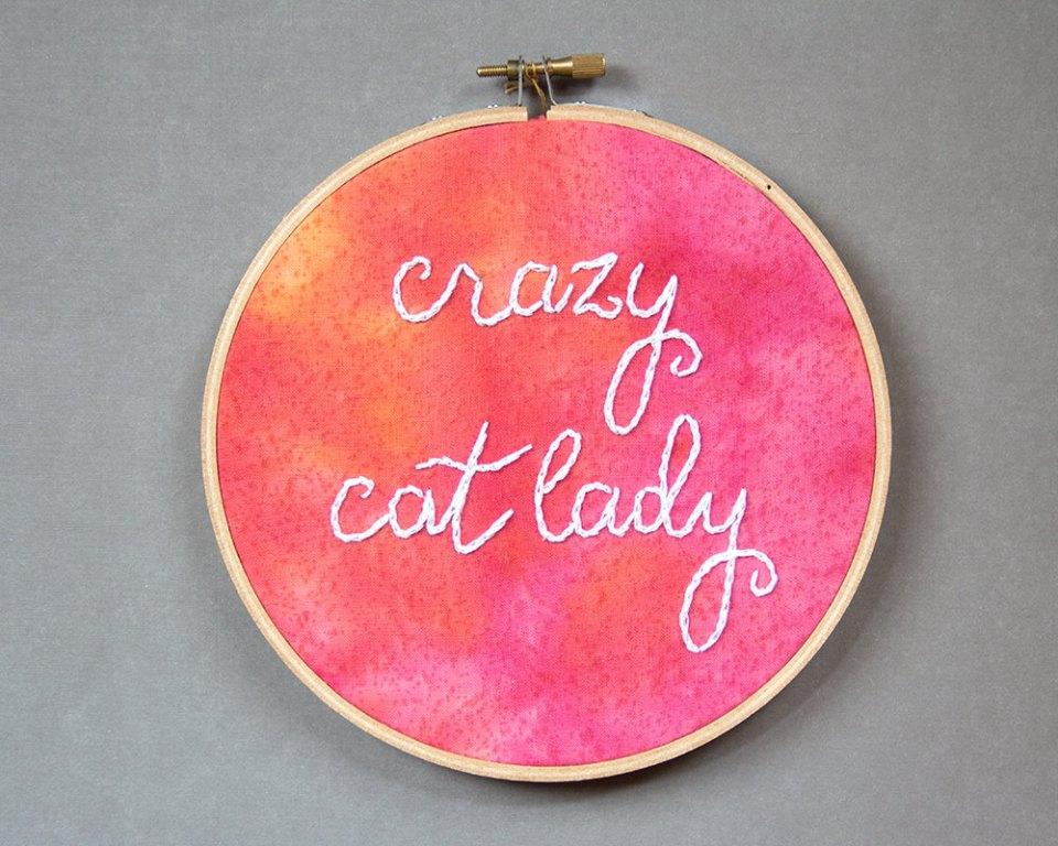 Etsy - Crazy Cat
