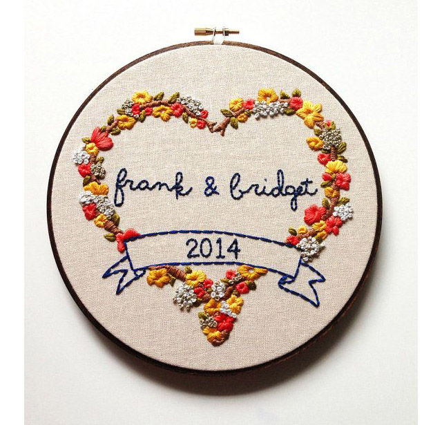 broderie - love