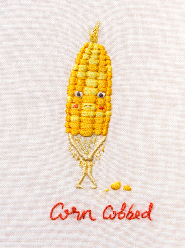 Corn Cobbed