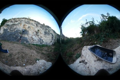 Samsung Gear 360° - Chateauneuf - Escalade