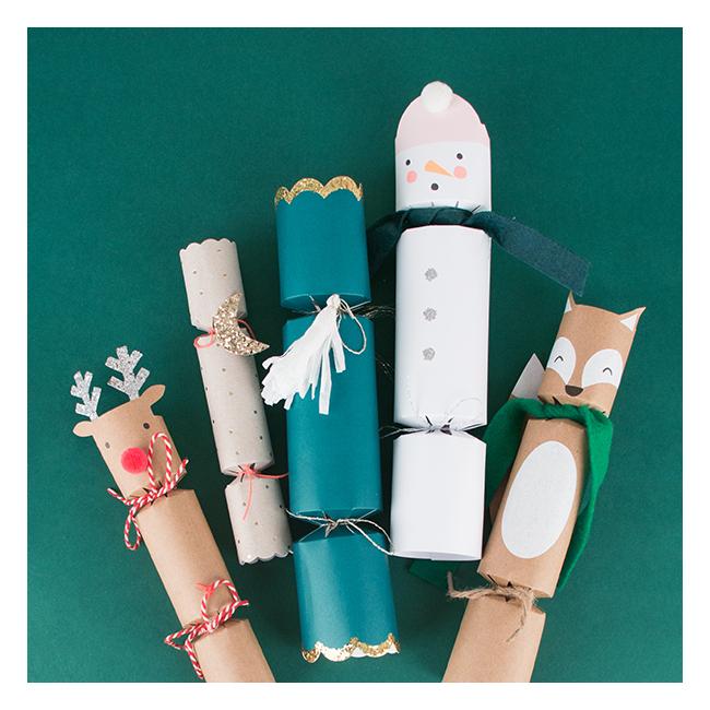 Crakers de Noël
