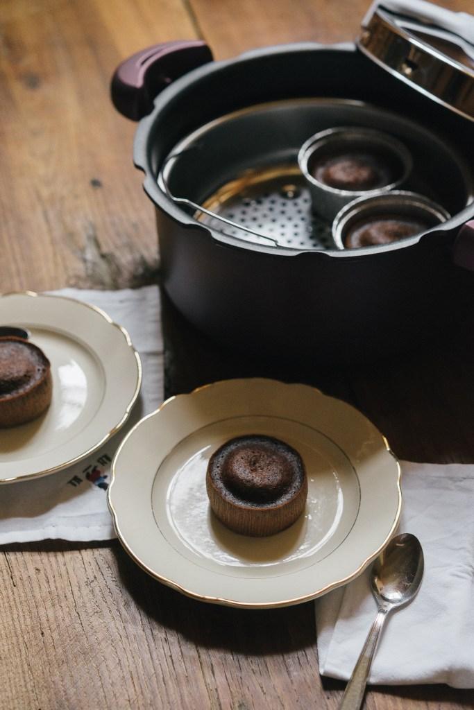 Recettes SEB Clipso - Fondants au chocolat