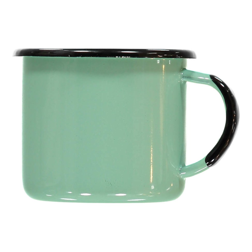 Tasse en émail verte Smallable