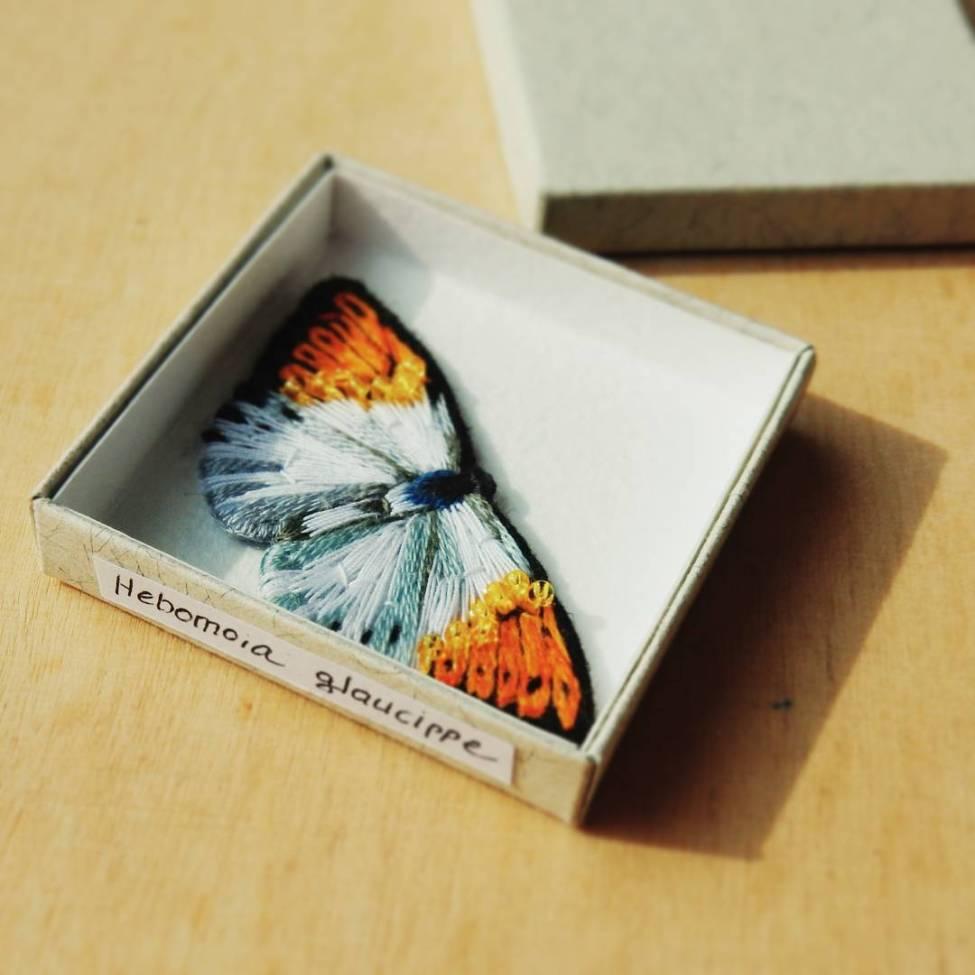 Papillon brodé - Lera Petunia