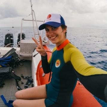 Selfie à Tahiti - GoPro