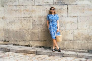 Street style mode Delphine - Paris