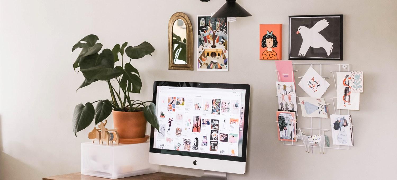 Bureau et ordinateur - Le mot de passe qui rend heureux