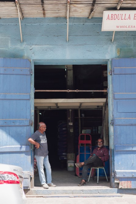 Visite de Port Louis - My Moris - Portrait de rue