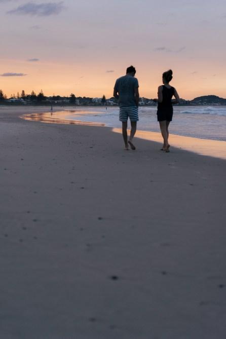 Coucher de soleil - Kirra Beach - Australie