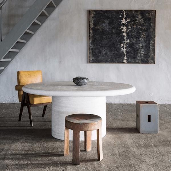 Table en marbre - Milk Decoration