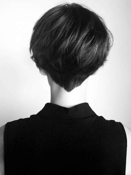 Nuque - Cheveux courts
