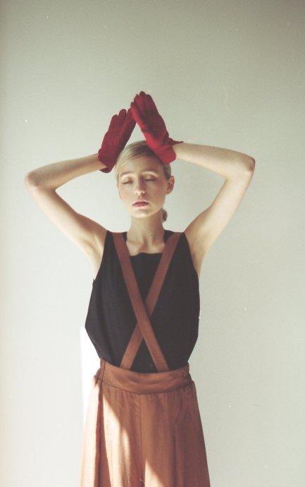 Pantalon Lison à bretelles amovibles - Noemiah