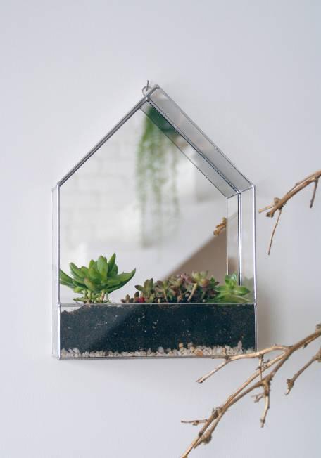Terrarium en verre à suspendre - Alexa Workshop