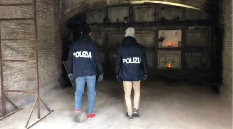 Roma, un fiume di cocaina nascosto nelle tombe del Verano: arrestato marmista
