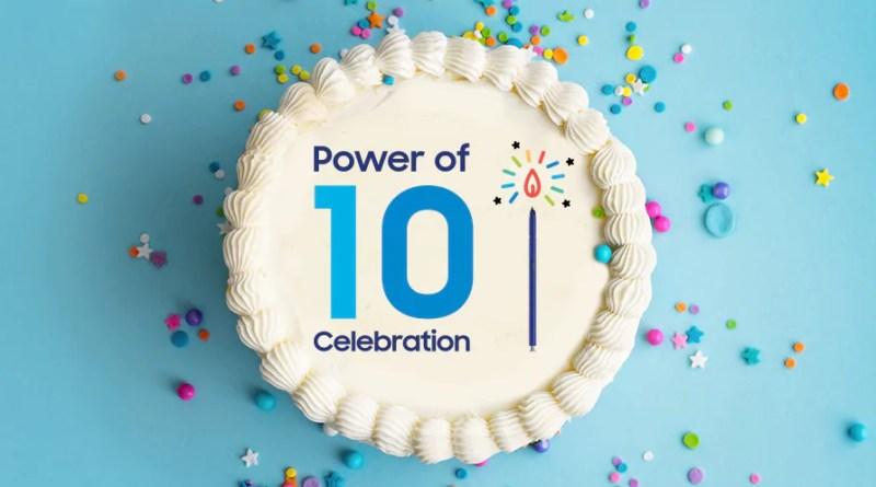 Samsung festeggia 10 anni di Galaxy con sconti fino al 50%, ma solo stanotte per poche ore!