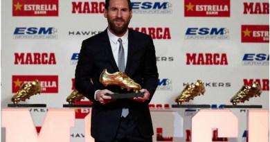 Messi vince la 6^ Scarpa d'Oro: la cerimonia LIVE