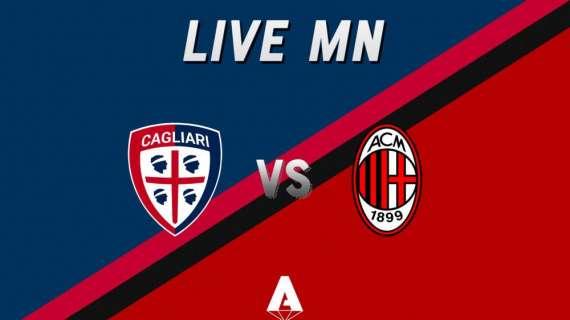 LIVE MN -Milan (0-0): tutto pronto alla Sardegna Arena