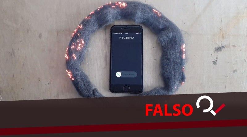 Psicosi 5G: il video complottista del cellulare che brucia la lana d'acciaio