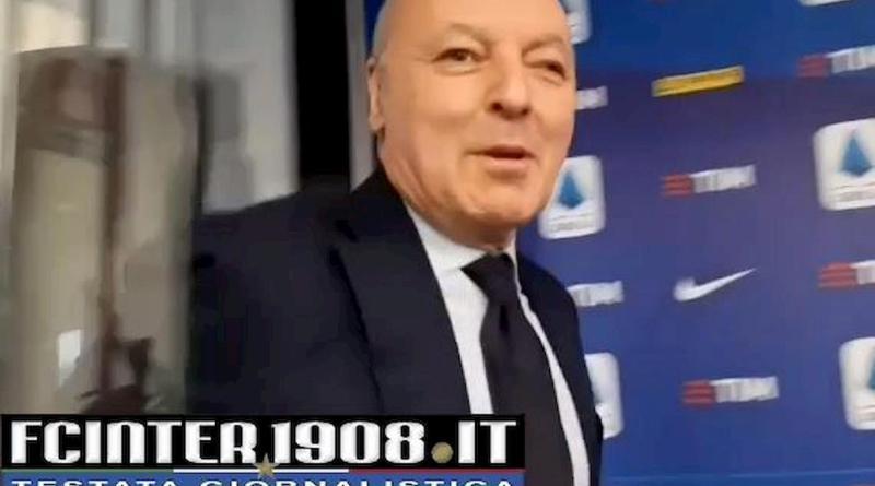 VIDEO FCIN1908 – Inter, Marotta lascia la sede della Lega dopo il Consiglio. E' diretto…