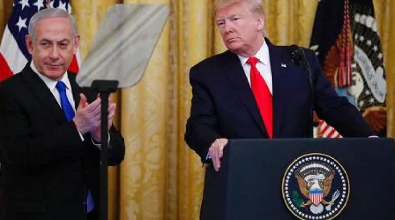 """Trump presenta il piano di pace in Medioriente: """"Riconosceremo uno Stato palestinese"""""""