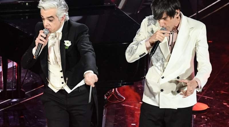 Sanremo 2020, Bugo lascia il palco, Morgan rischia la squalifica