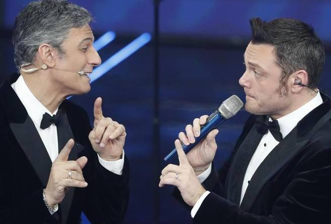 Sanremo 20202, Fiorello e  Tiziano Ferro: ma è pace forzata?