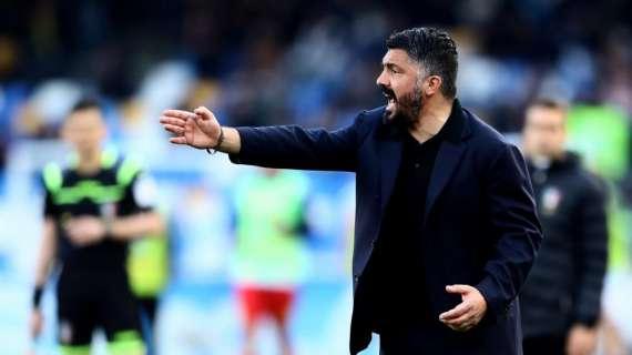 """Gattuso alla Rai: """"Zero sorrisi, pedaliamo! Voglio due Napoli! Non abbiamo fatto ancora nulla…"""""""