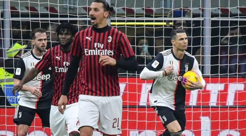 Coppa Italia, Milan-Juventus 1-1: Ronaldo salva i bianconeri al 91′
