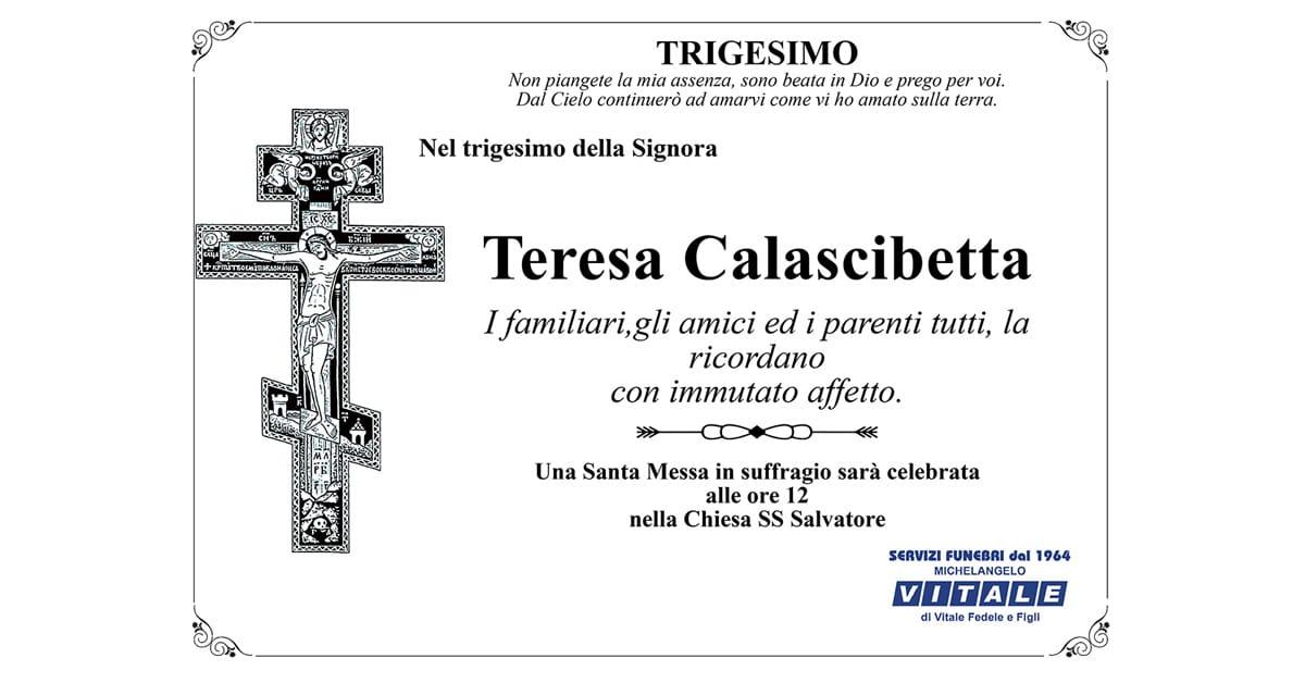 Trigesimo Teresa Calascibetta