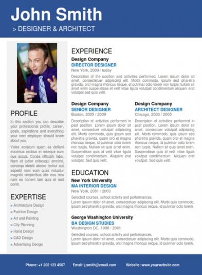 trendy resumes creative resume templates