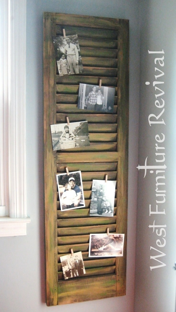 13 Creative Diy Projects You Can Do With Window Shutters