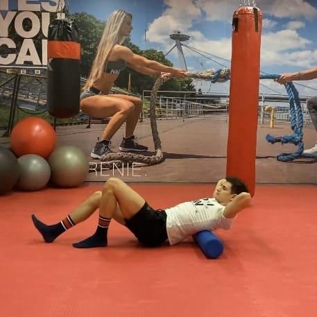 Kvalitné rozohriatie a rozcvičenie s rollerom