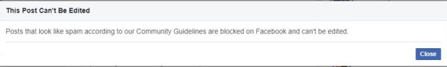 Website URL blocked By Facebook - How To Unblock ? Complete Guide